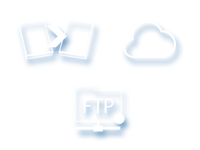 image include in base pack drive image, cloud, ftp